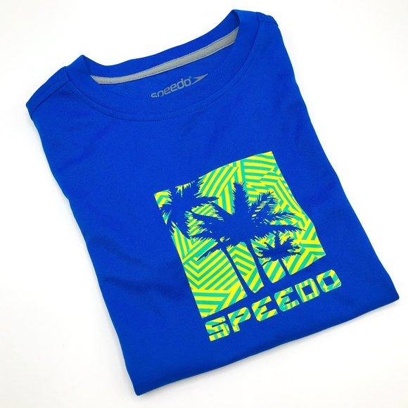 Speedo Blue UPF50+ Boys Size M Shirt
